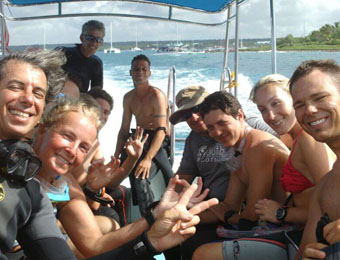 Reef Diving IDC internship